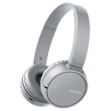 Buy Sony WH-CH500 Bluetooth NFC Wireless On-Ear Headphones with Mic/Remote Online at johnlewis.com