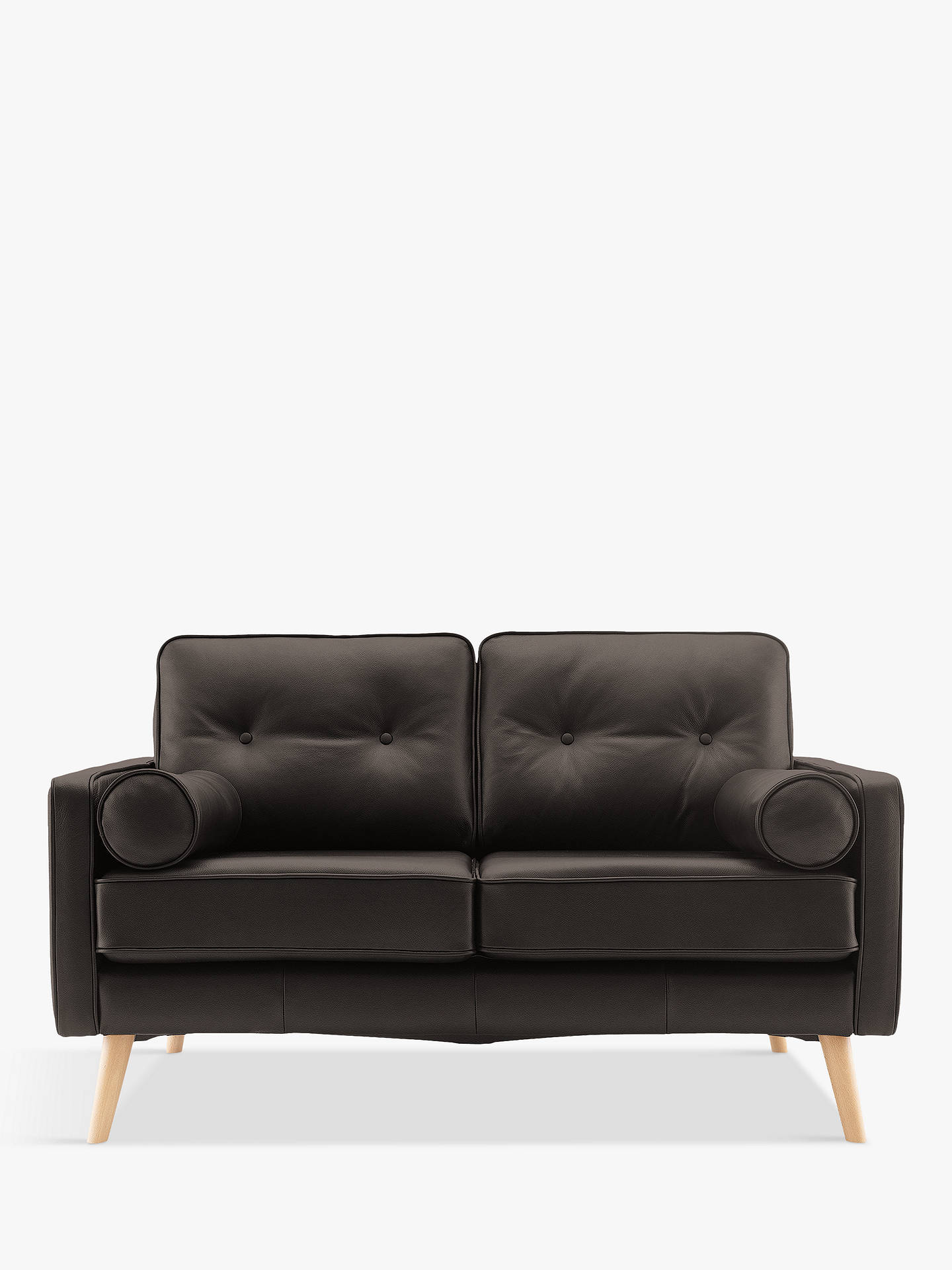 Pleasing G Plan Vintage The Sixty Five Small 2 Seater Leather Sofa Ibusinesslaw Wood Chair Design Ideas Ibusinesslaworg