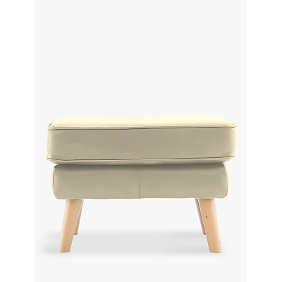 G Plan Vintage The Sixty Five Leather Footstool