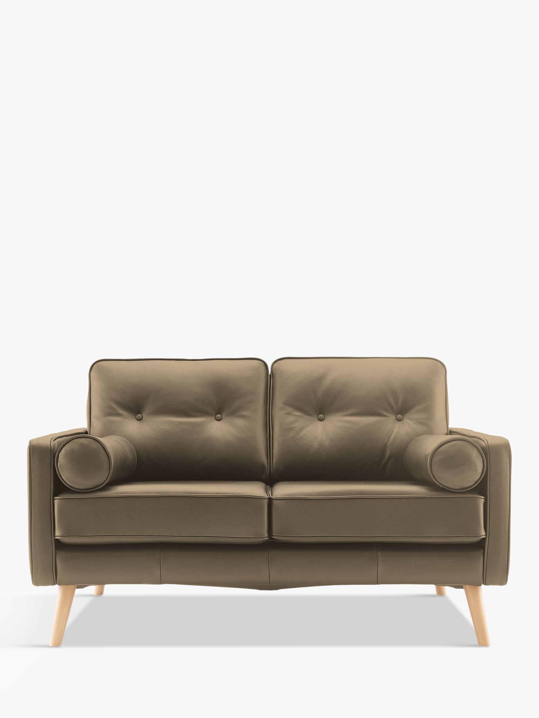 G Plan Vintage G Plan Vintage The Sixty Five Small 2 Seater Leather Sofa