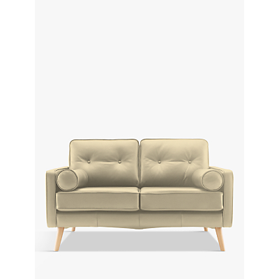 G Plan Vintage The Sixty Five Small 2 Seater Leather Sofa