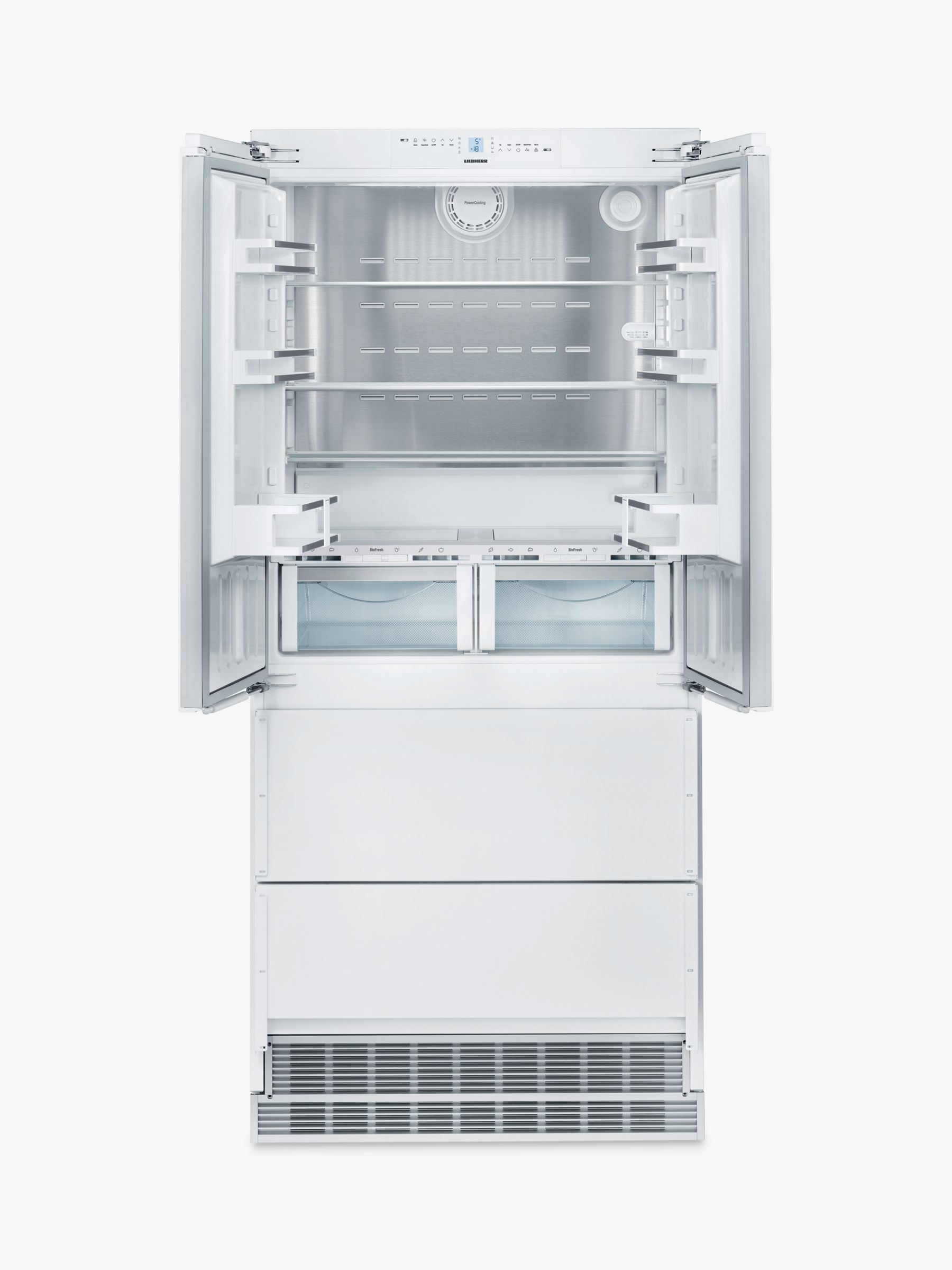 Liebherr ECBN6256 Integrated American Style Fridge Freezer, 91cm Wide, A++  Energy Rating, White