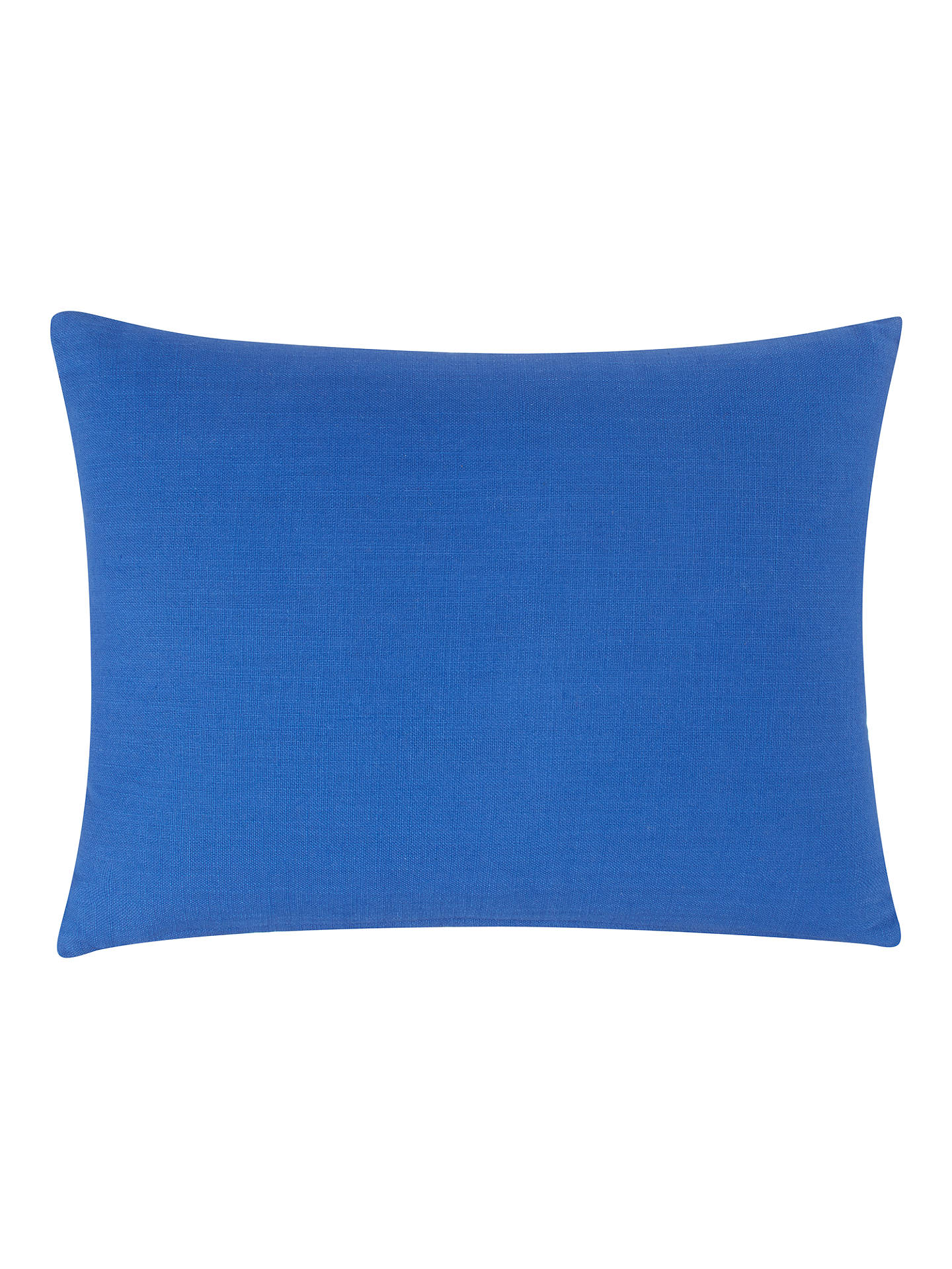 Buy House by John Lewis Cheetah Cushion, Cobalt Online at johnlewis.com