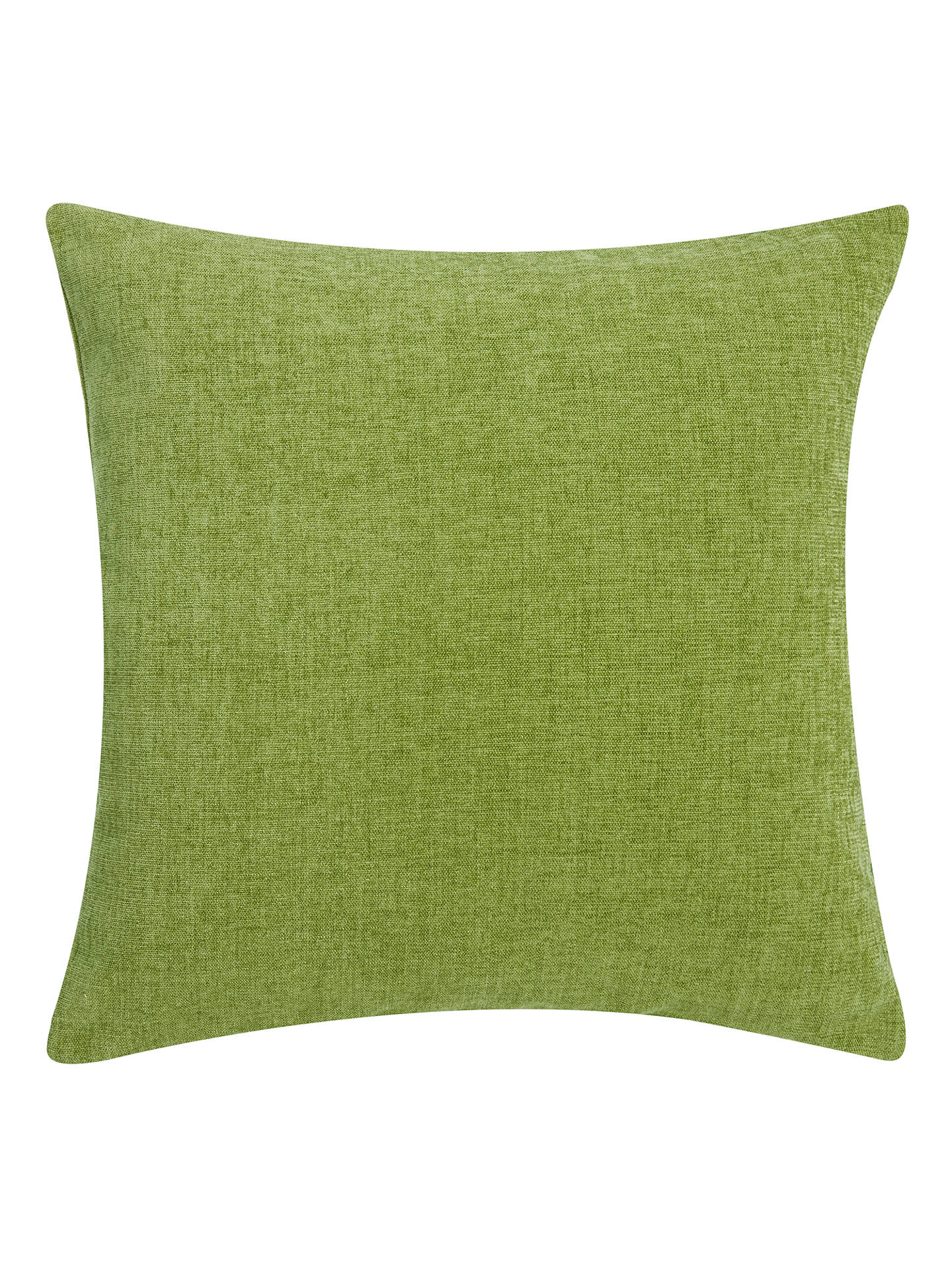 Buy John Lewis & Partners Chenille Cushion, Moss Online at johnlewis.com