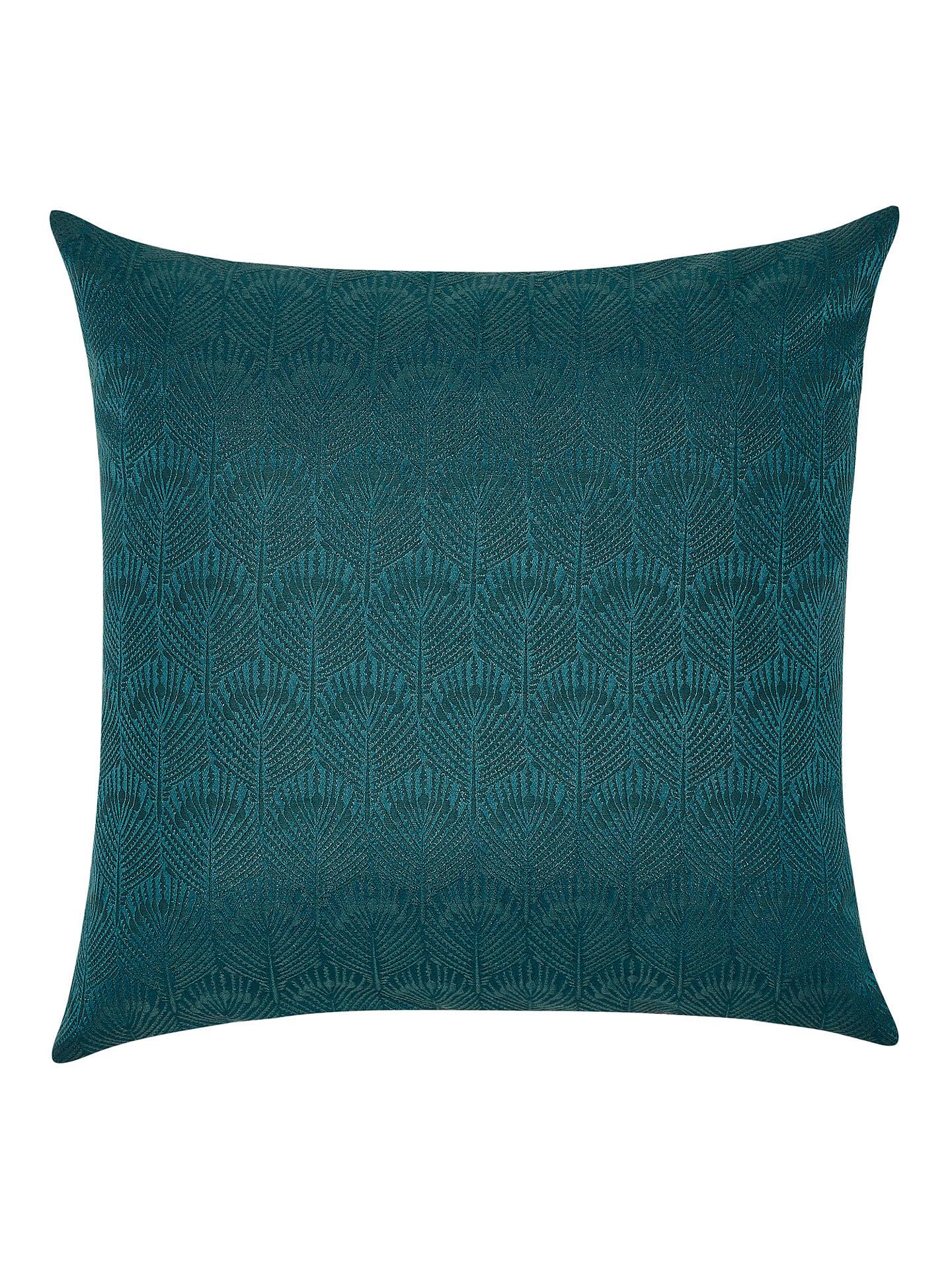 john lewis partners pavone cushion teal at john lewis. Black Bedroom Furniture Sets. Home Design Ideas