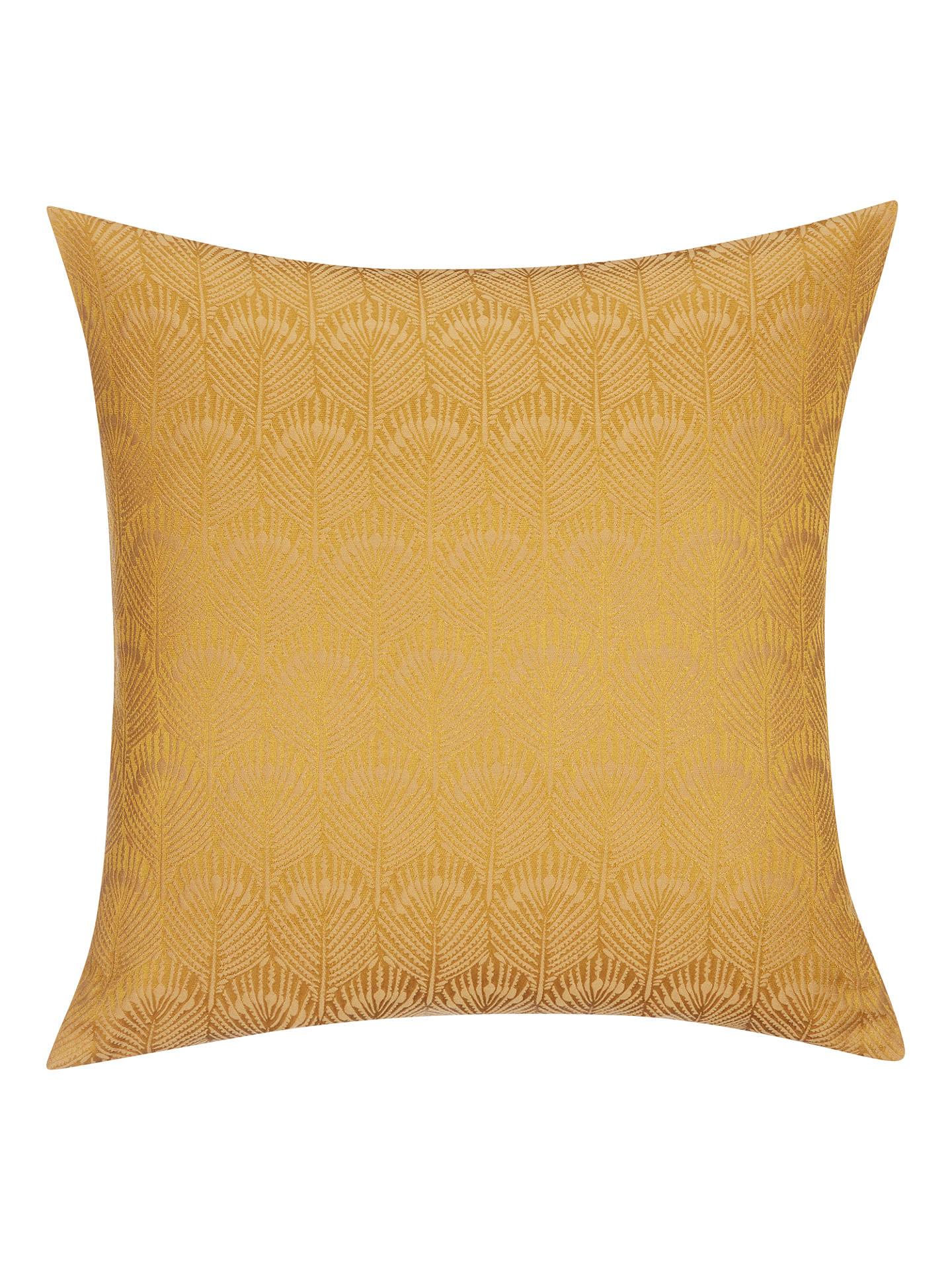john lewis partners pavone cushion gold at john lewis. Black Bedroom Furniture Sets. Home Design Ideas