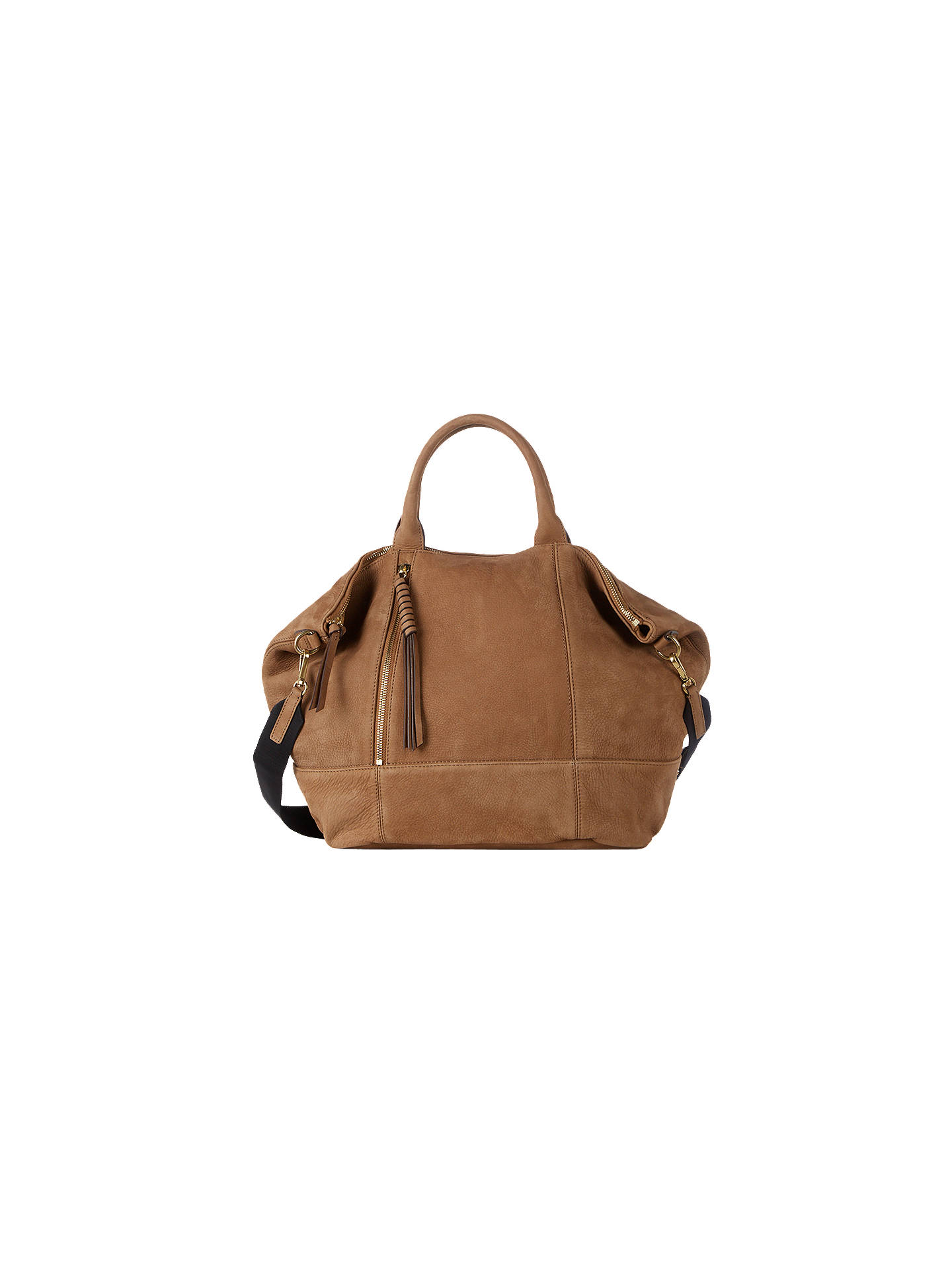 hot-selling genuine drop shipping exquisite style Gerard Darel Only You Leather Grab Bag, Camel