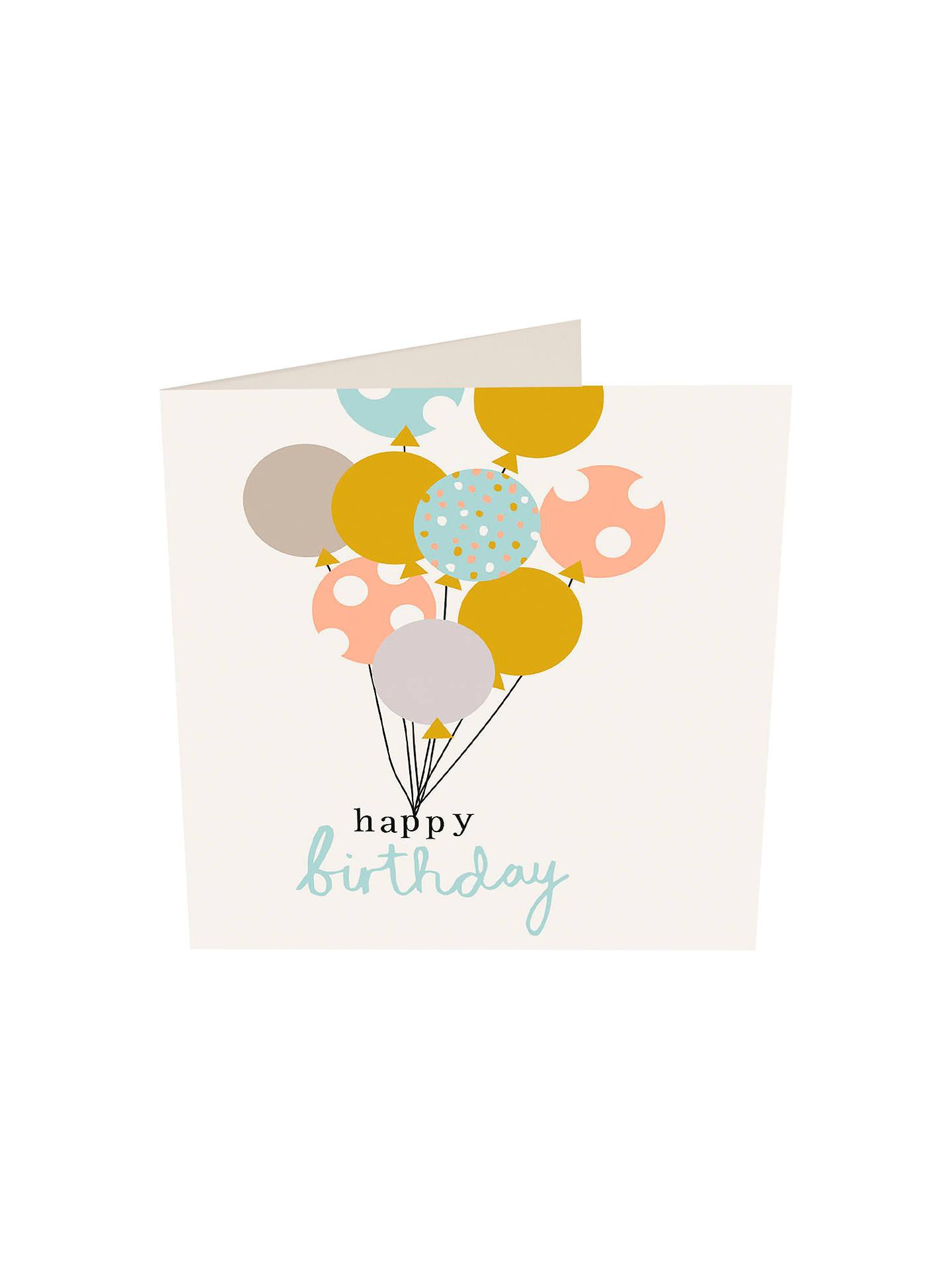 Caroline Gardner Happy Birthday Card At John Lewis Partners