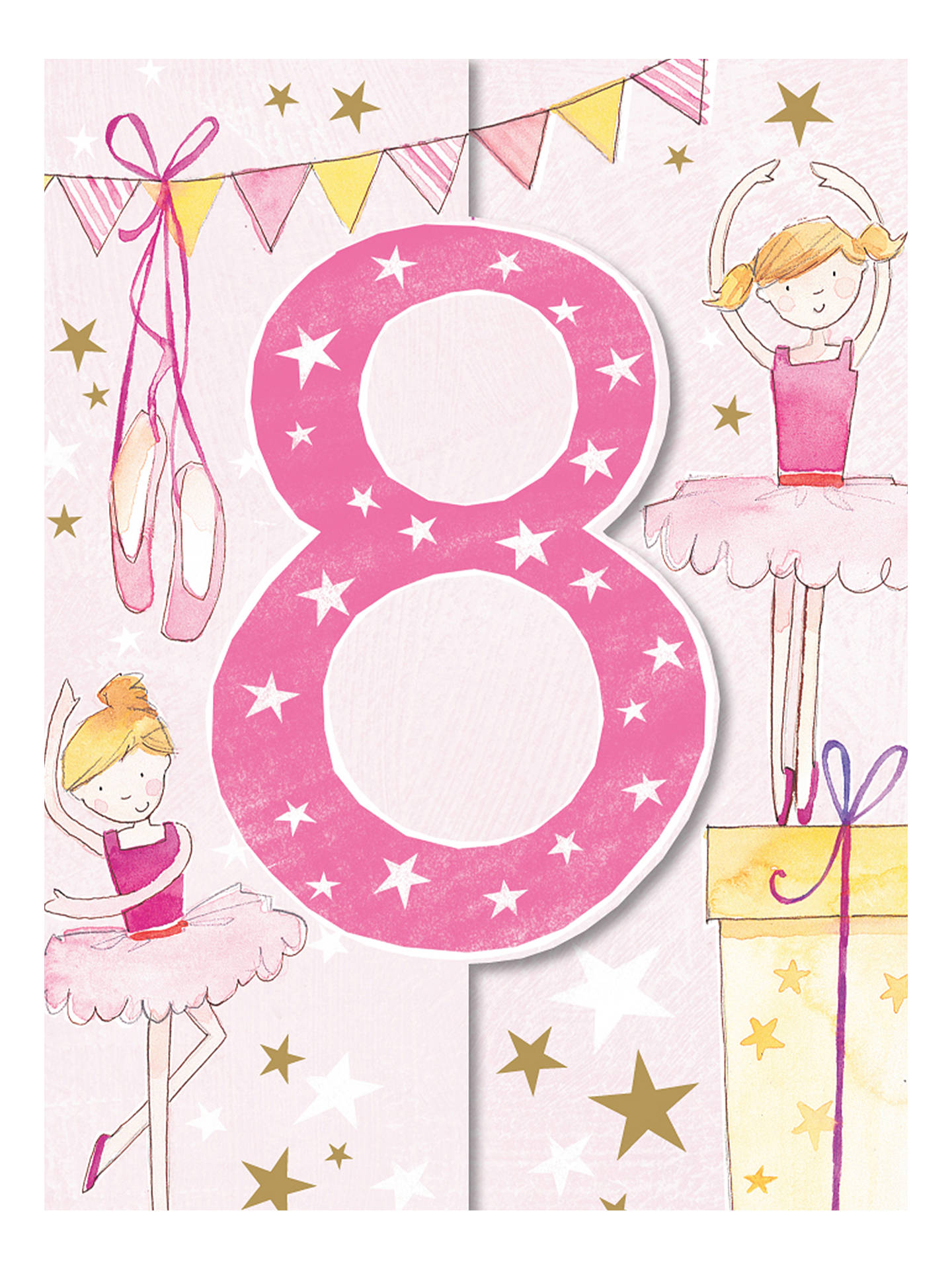 Buy Ling Ballet 8th Birthday Card Online At Johnlewis