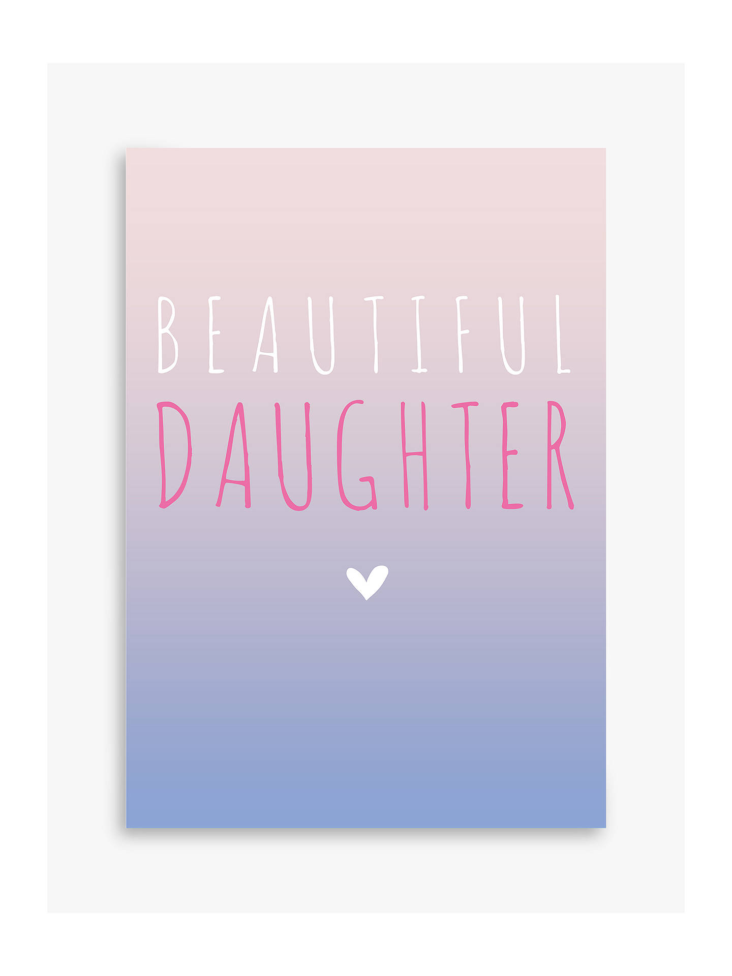 BuyBellybutton Bubble Beautiful Daughter Birthday Card Online At Johnlewis