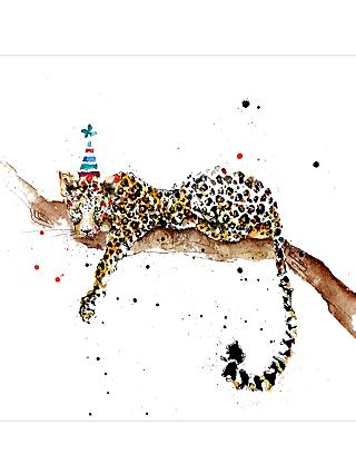 General greetings cards john lewis partners louise mulgrew leopard greeting card m4hsunfo