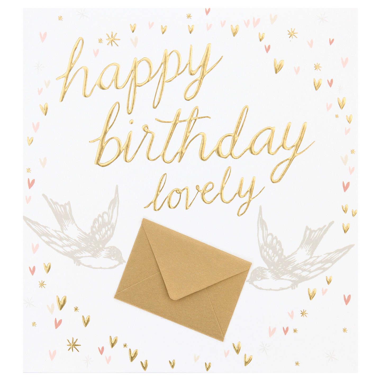 Caroline Gardner Happy Birthday Lovely Card At John Lewis