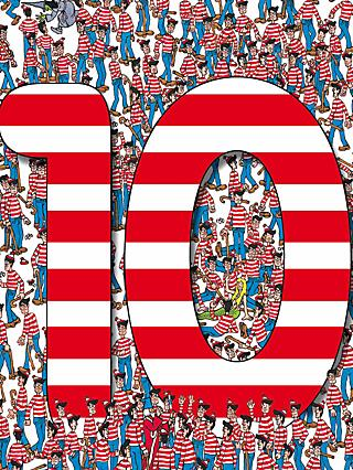 Woodmansterne Lots of Wally 10th Birthday Card