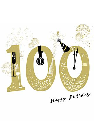 Woodmansterne Big Bang 100th Birthday Card