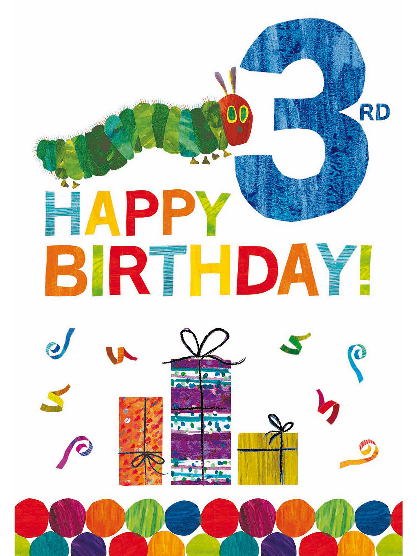 BuyWoodmansterne Candles 3rd Birthday Card Online At Johnlewis