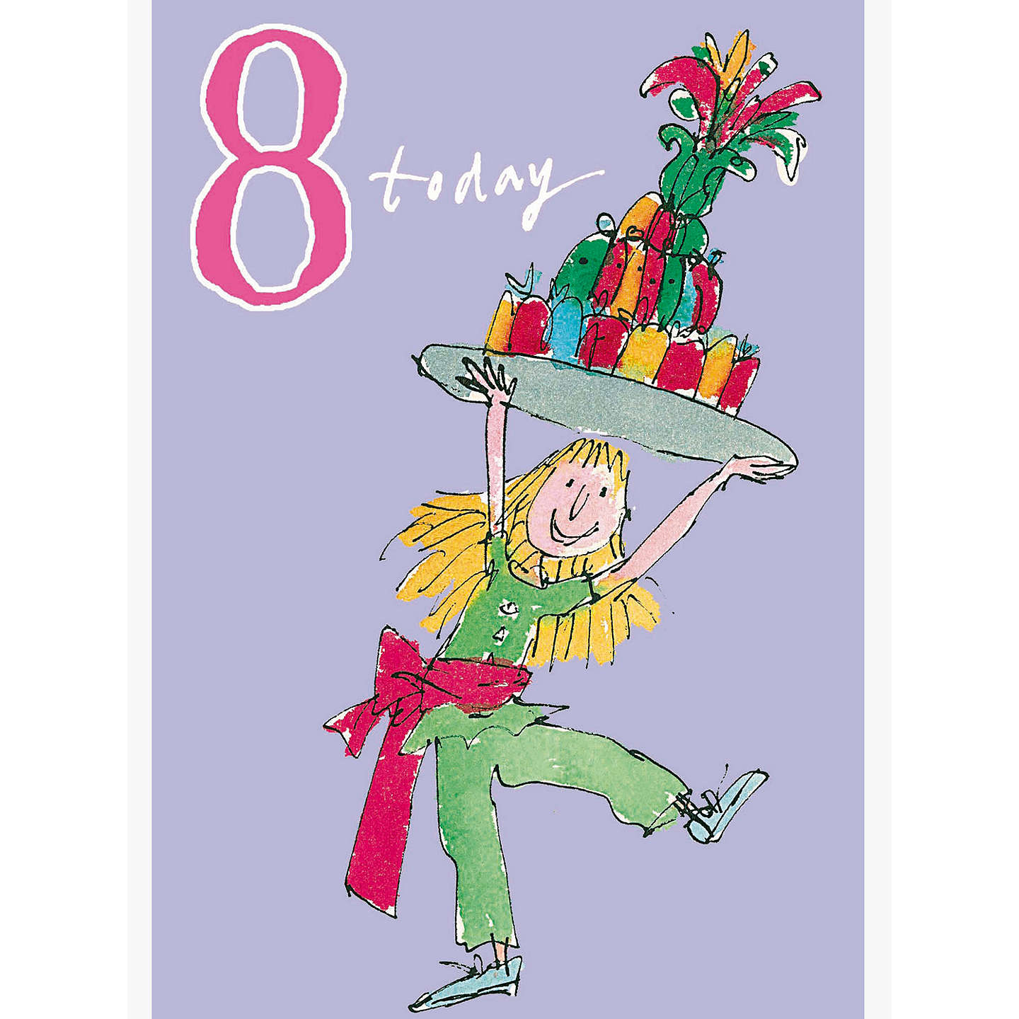 Woodmansterne jelly cake 8th birthday card at john lewis buywoodmansterne jelly cake 8th birthday card online at johnlewis bookmarktalkfo Image collections