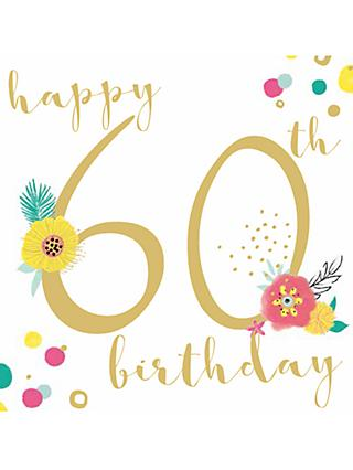 Bellybutton Bubble 60th Birthday Card