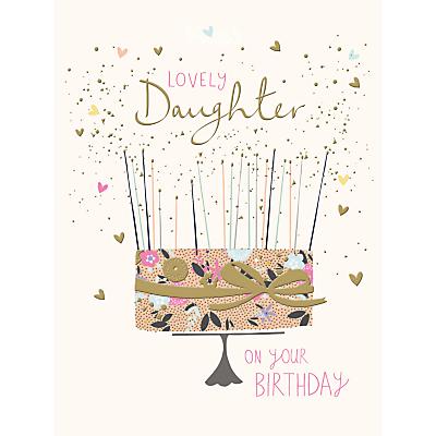 Image of Woodmansterne Amazing Daughter Birthday Card