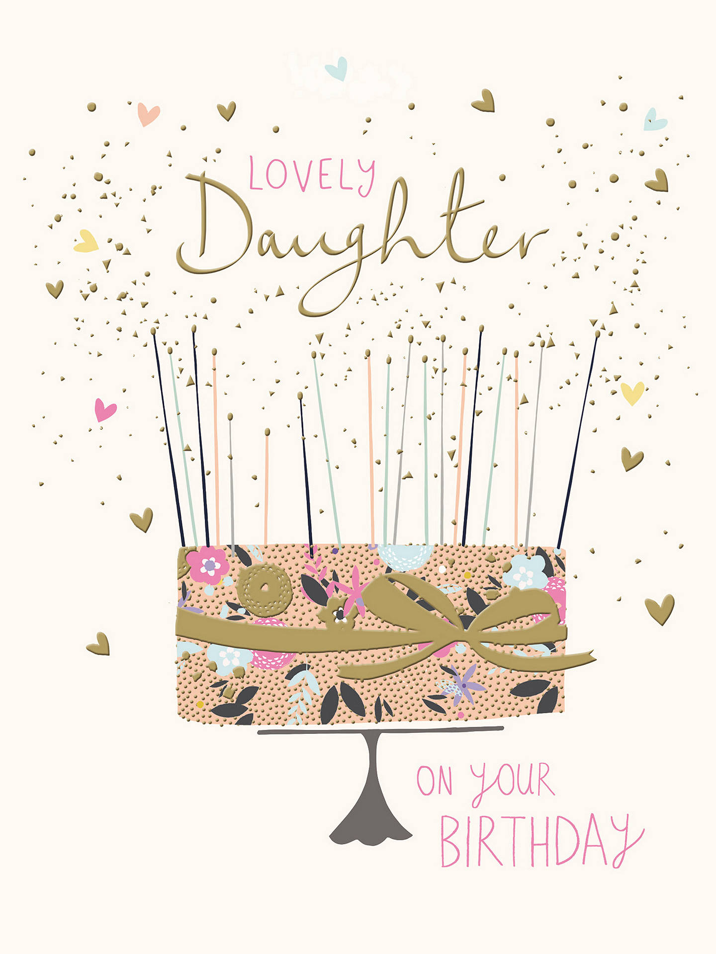 Woodmansterne Amazing Daughter Birthday Card At John Lewis Partners
