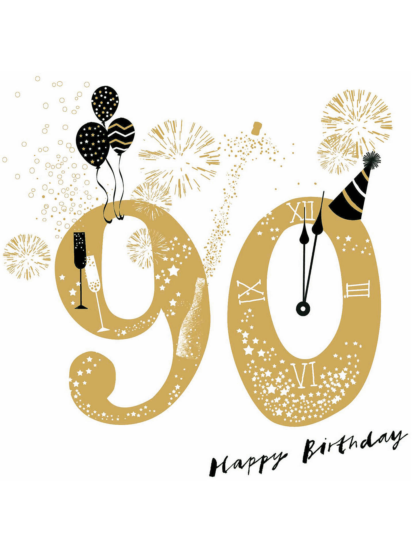 Buy Woodmansterne Jubilant 90th Birthday Card Online At Johnlewis