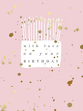 Woodmansterne Lovely Cake Birthday Card
