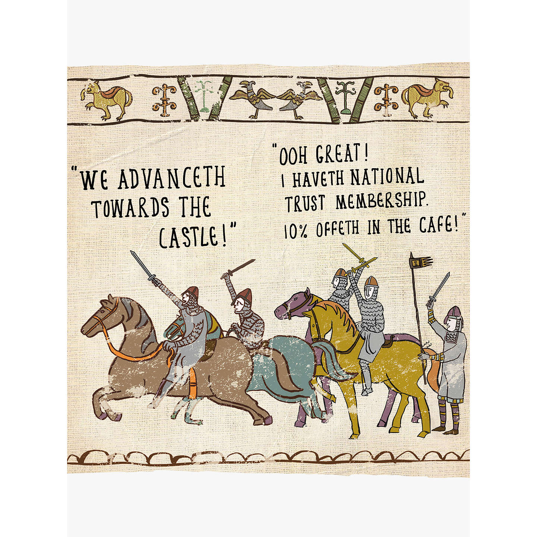 Woodmansterne National Trust Greeting Card At John Lewis