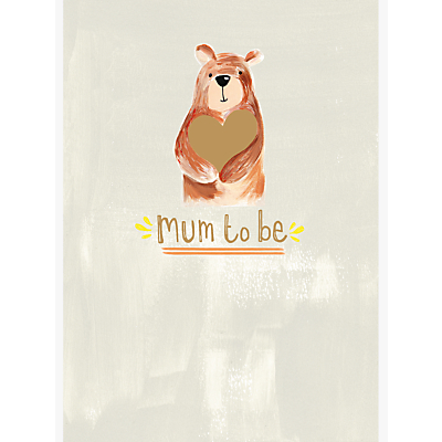 Image of Paper Salad Mum To Be Card
