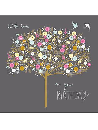Woodmansterne Pretty Petals Birthday Card