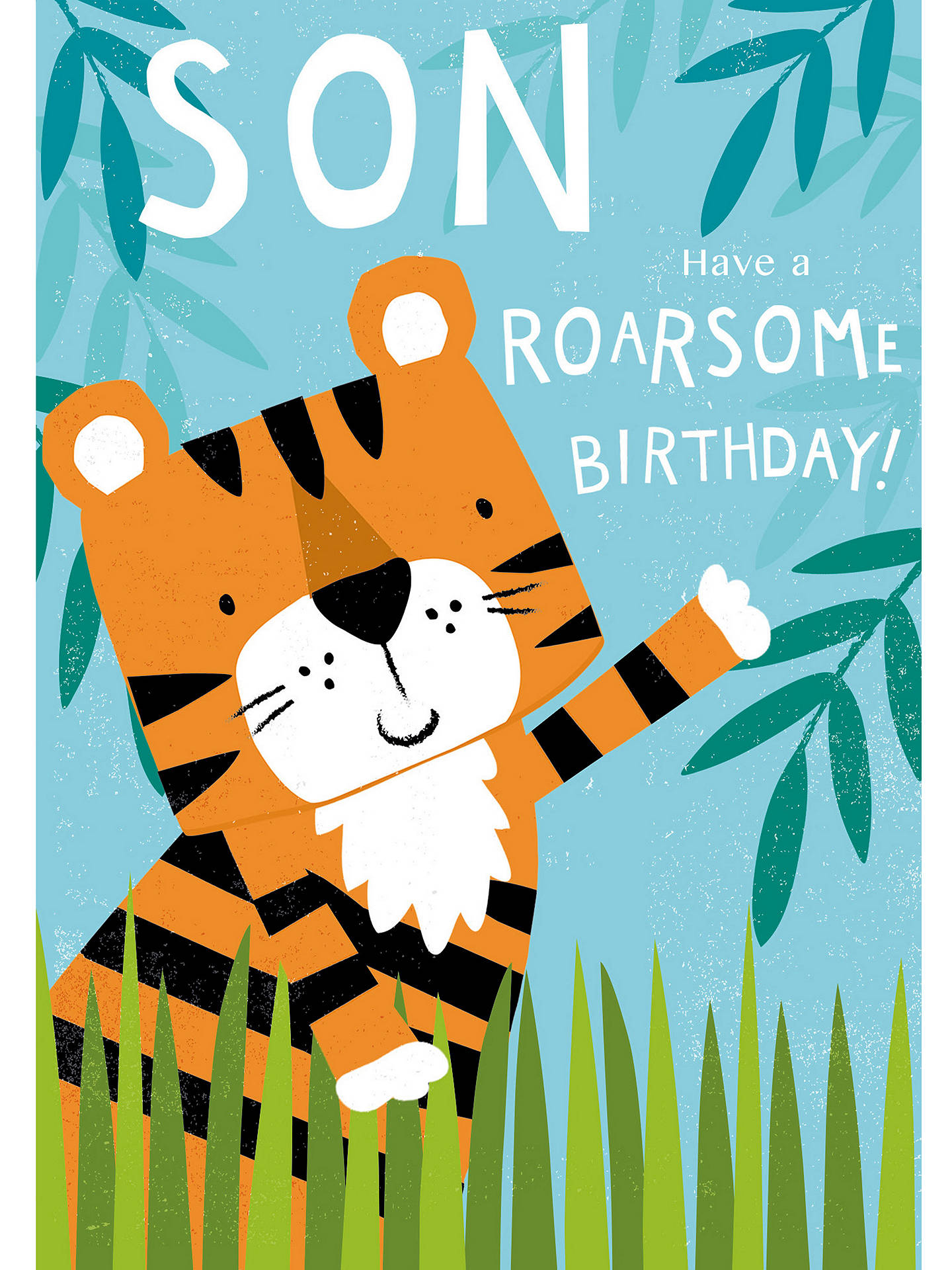 Buy Cardmix Roarsome Son Birthday Card Online At Johnlewis