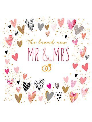 Wedding greetings cards john lewis partners portfolio mr mrs wedding card m4hsunfo