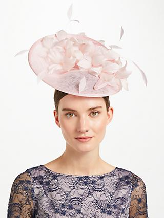 John Lewis   Partners Beth Up Turn Swirl Occasion Hat 2586eadacff