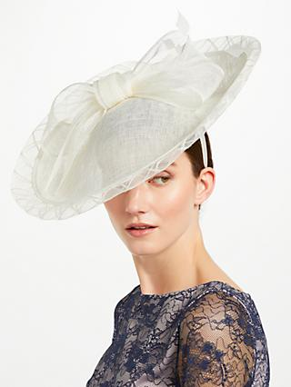 John Lewis Partners Maizie Large Side Up Disc Fascinator