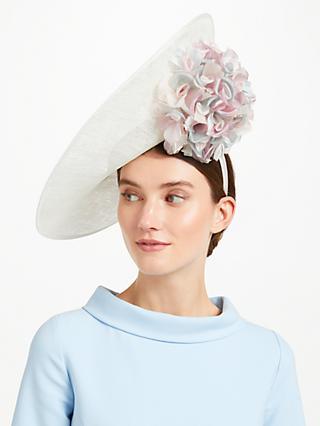 e0794f1e43a John Lewis   Partners Petal Hydrangea Side Disc Occasion Hat