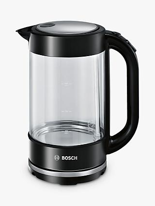 Bosch TWK70A03GB Glass Kettle, Black