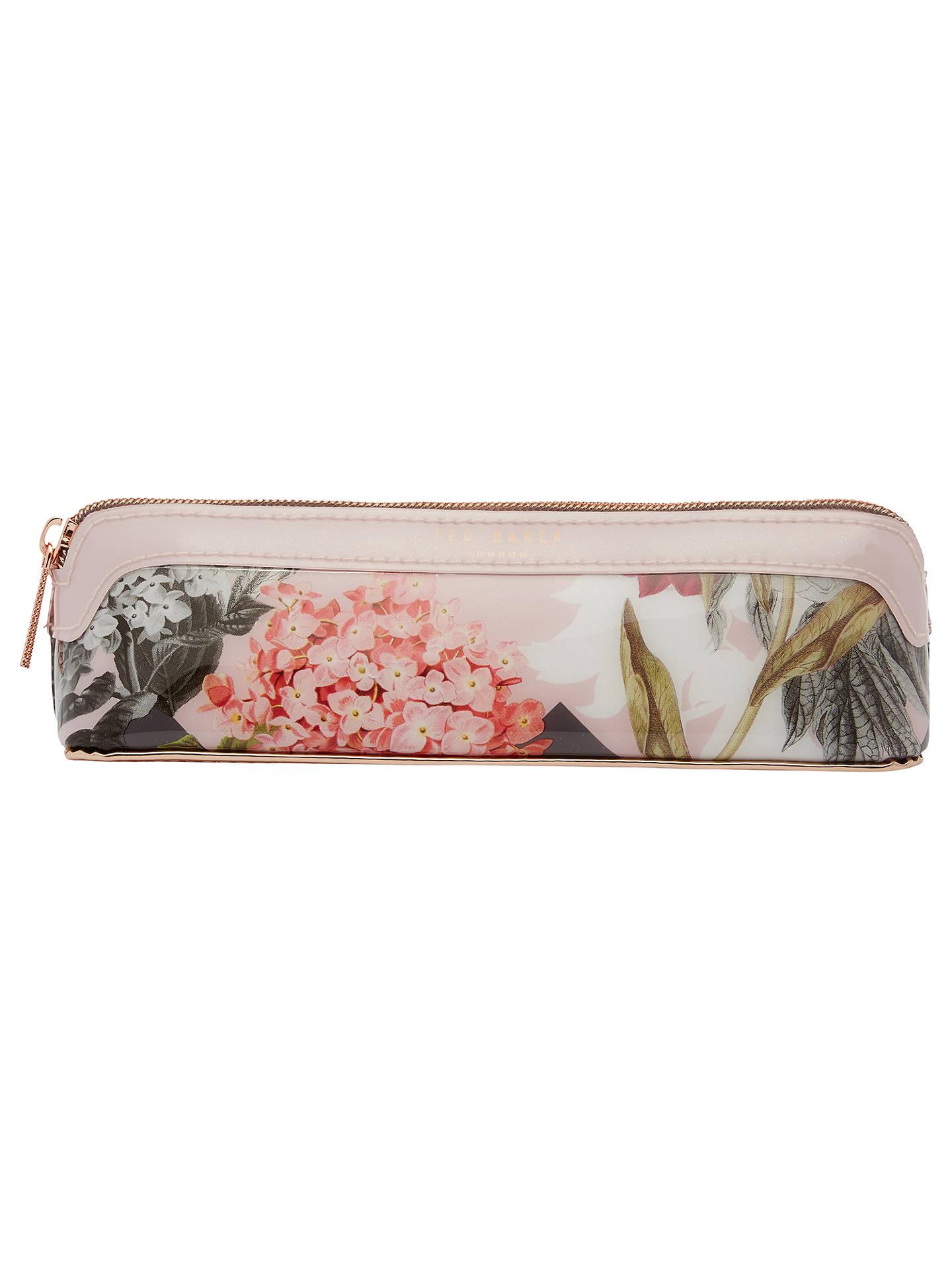 on sale 58de1 4ed89 Ted Baker Isle Palace Gardens Pencil Case, Dusky Pink