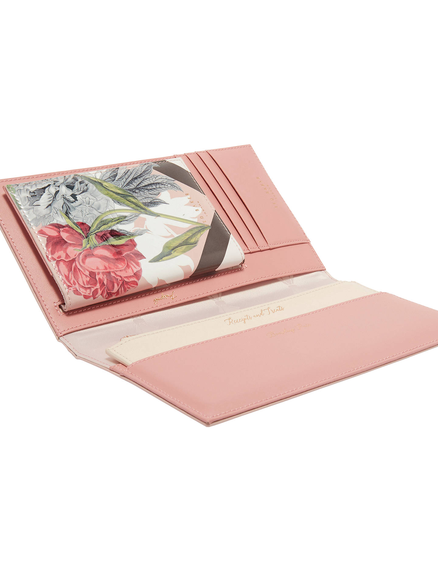 c213bfd6d1215e Buy Ted Baker Tessa Palace Gardens Leather Travel Wallet   Passport Holder