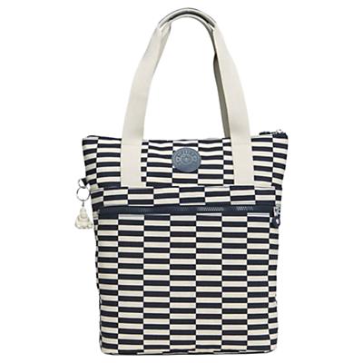 Kipling Real Fun Shopper Bag, Stripe Mix