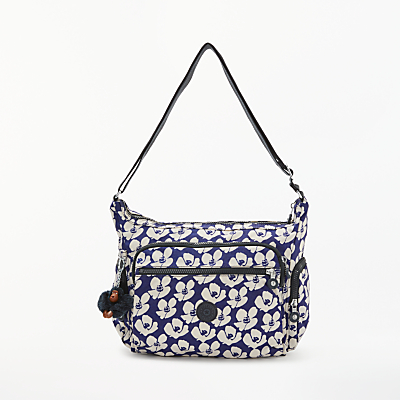 Kipling Gabbie Medium Cross Body Bag, Bold Flower