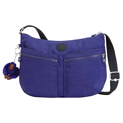 Kipling Izellah Cross Body Bag, Summer Purple