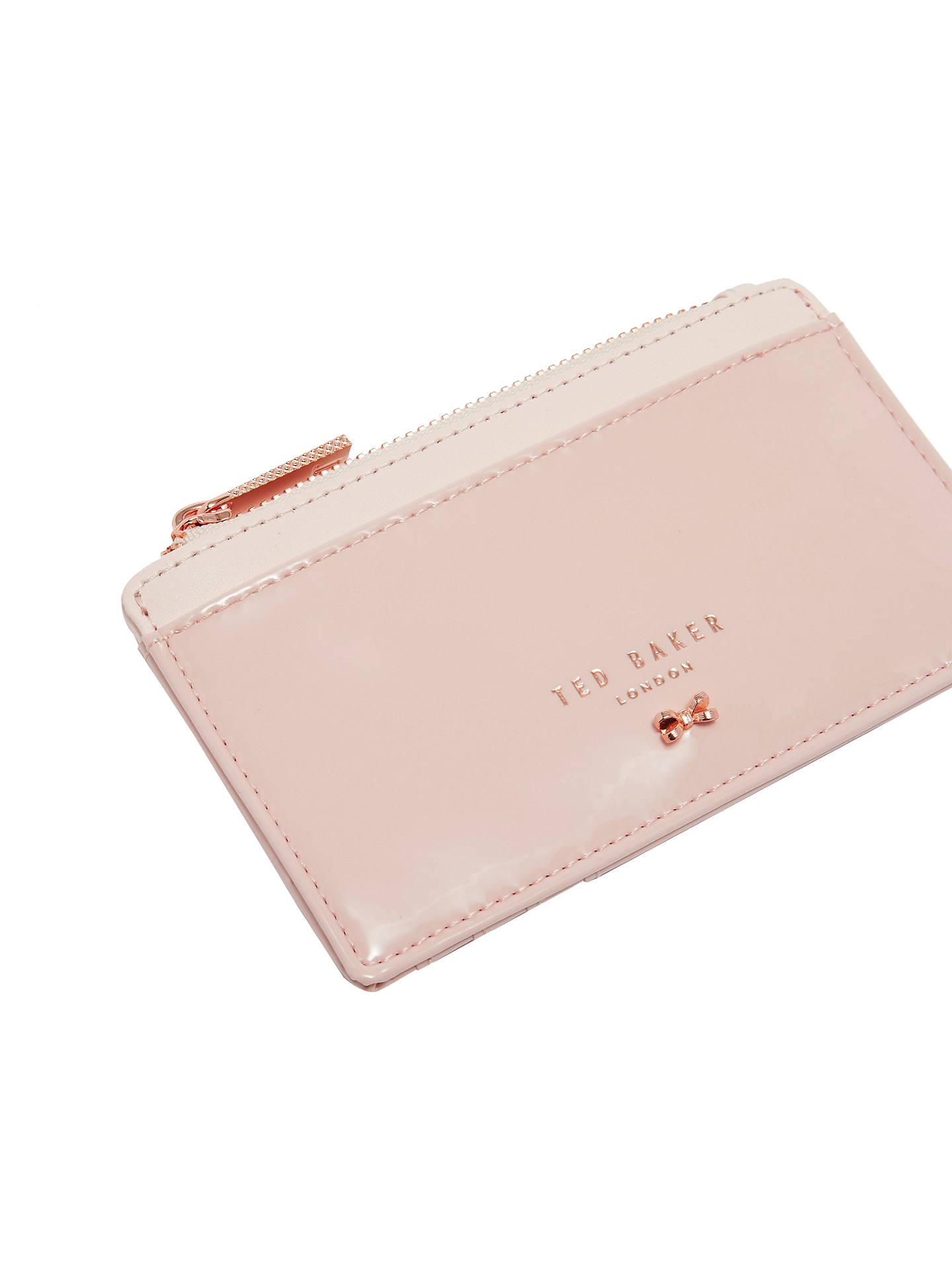 5fa51468092 Ted Baker Roselyn Leather Mini Purse, Light Pink
