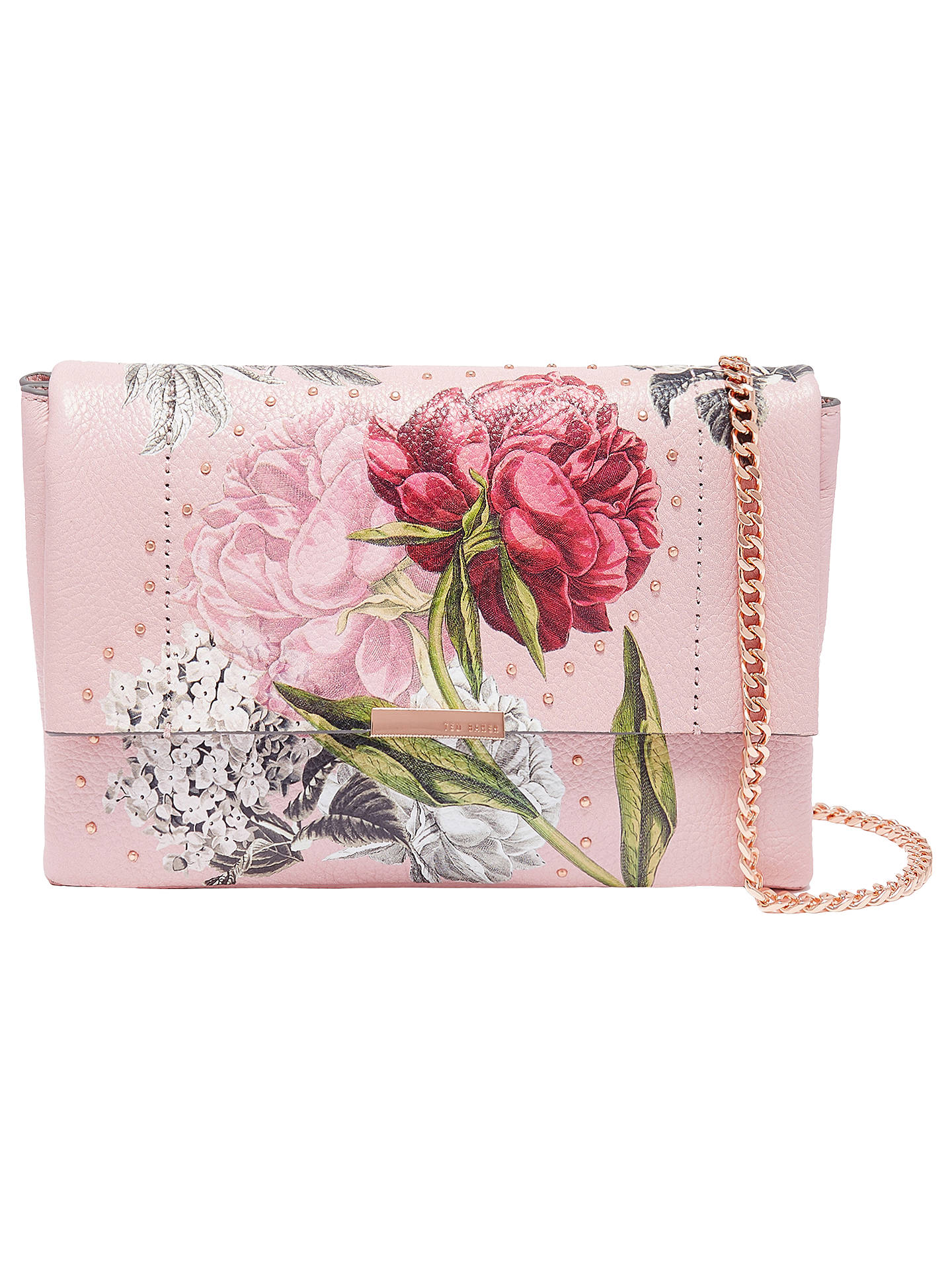 03c7b6a8c Buy Ted Baker Ploomi Palace Gardens Leather Cross Body Bag
