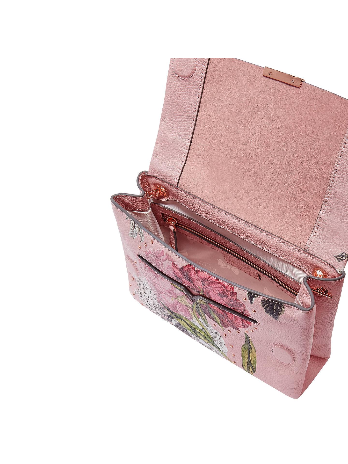 baf1fa2c932f ... Buy Ted Baker Ploomi Palace Gardens Leather Cross Body Bag