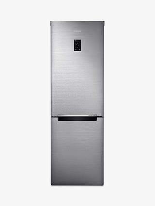 Buy Samsung RB33N321NSS Freestanding 60/40 Fridge Freezer, A+++ Energy Rating, 60cm Wide, Brushed Steel Online at johnlewis.com