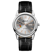 Buy Ingersoll Men's The New Haven Disney Automatic Day Date Leather Strap Watch Online at johnlewis.com