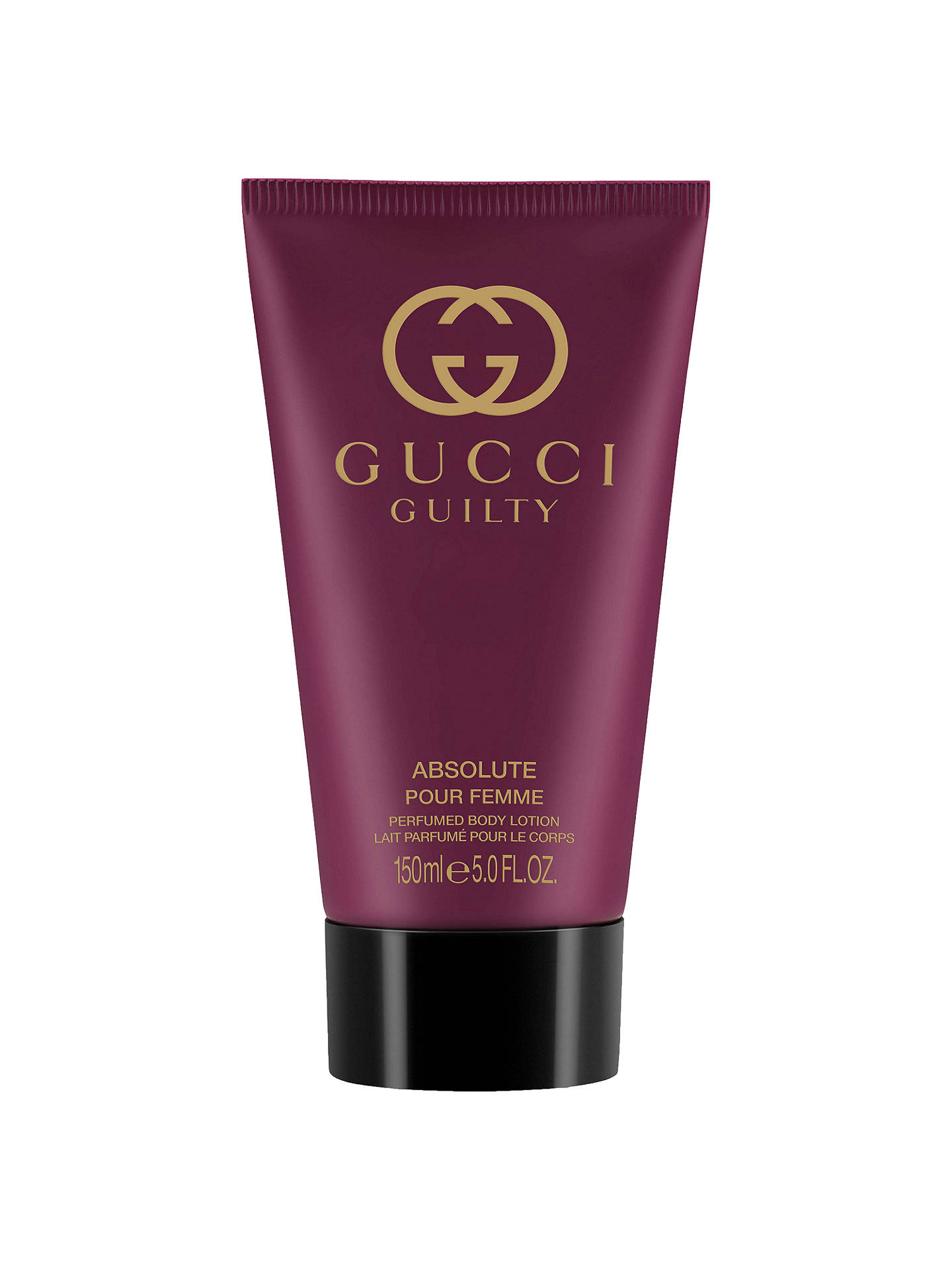 Gucci Guilty Absolute Eau De Parfum For Her Body Lotion 150ml At