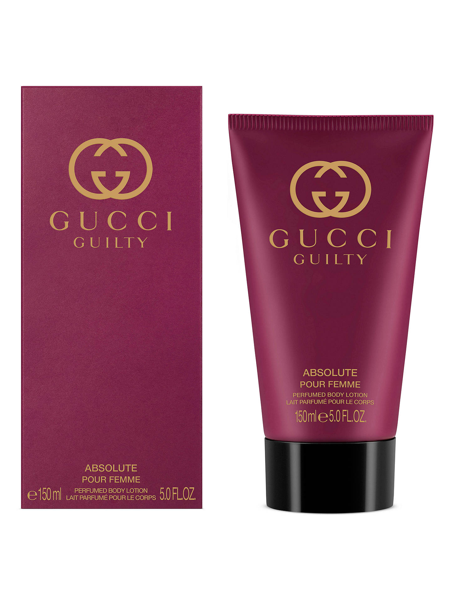 0d20590d2 ... Buy Gucci Guilty Absolute Eau de Parfum for Her Body Lotion, 150ml  Online at johnlewis