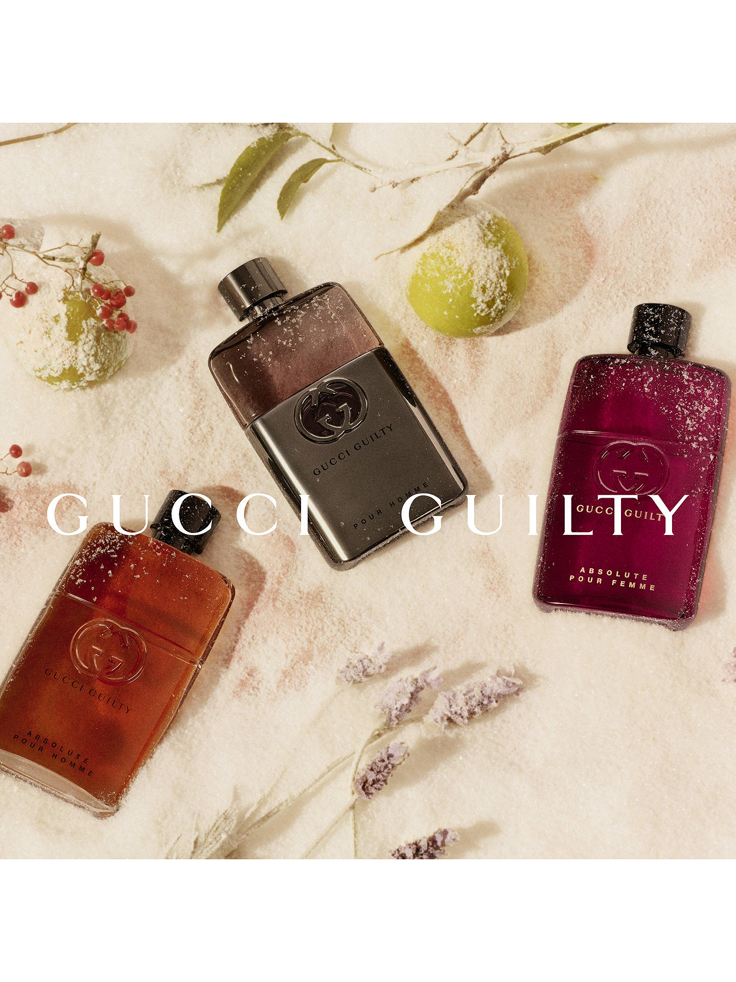 Gucci Guilty Absolute Pour Femme Eau De Parfum At John Lewis Partners