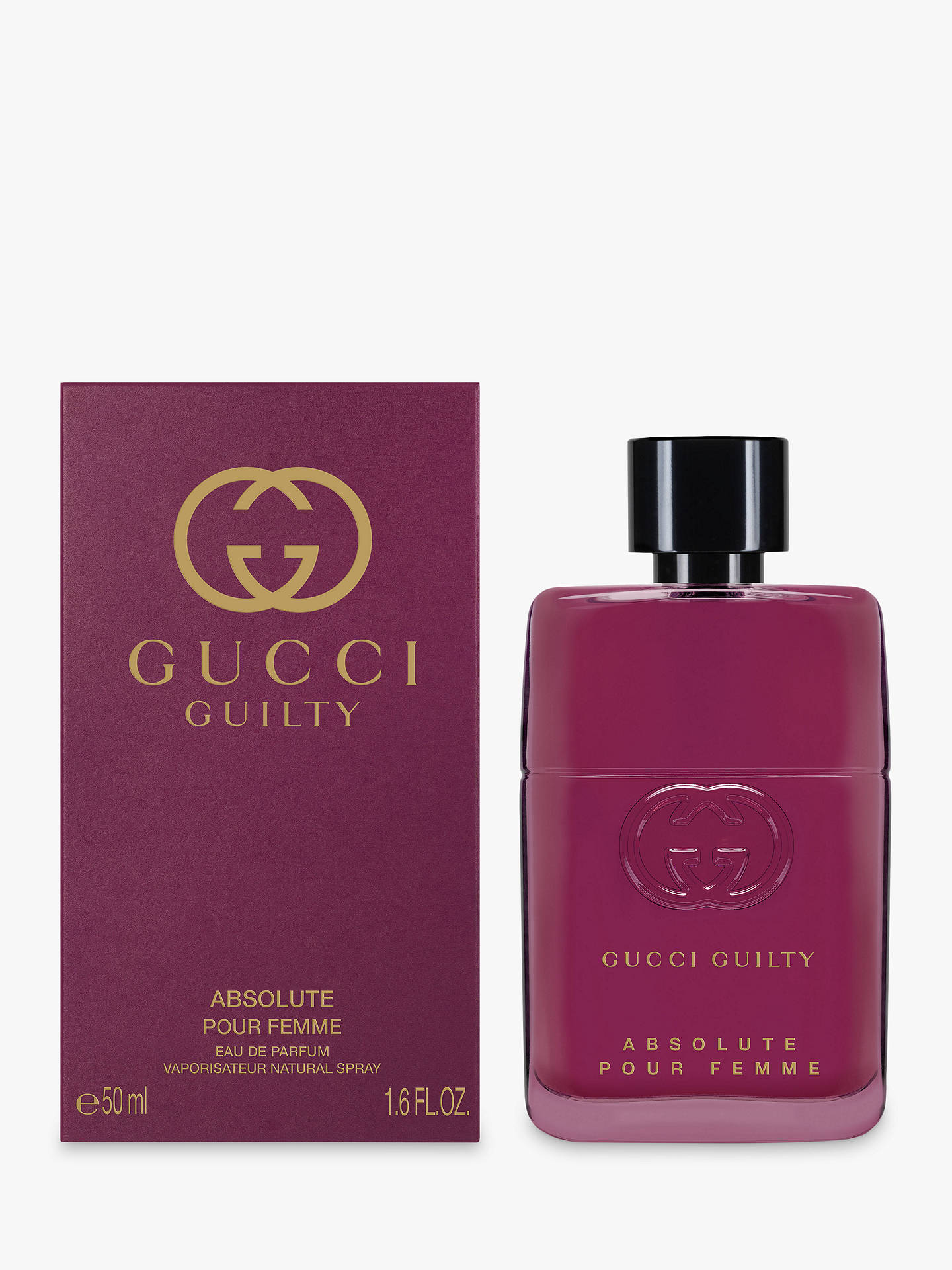 BuyGucci Guilty Absolute Pour Femme Eau de Parfum, 30ml Online at johnlewis.com