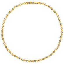 Buy Finesse Swarovski Crystal Tennis Necklace Online at johnlewis.com