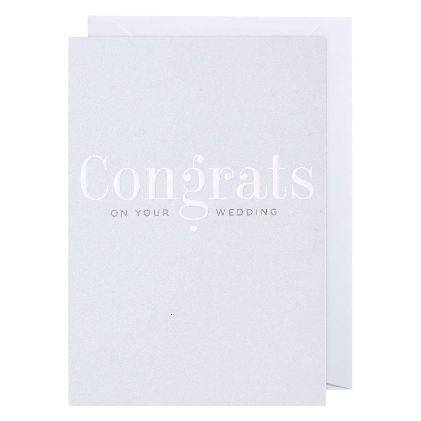 Lagom Designs Congrats On Your Wedding Card at John Lewis
